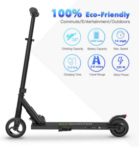 el patinete electrico megawheels s1 es ideal para ciudad